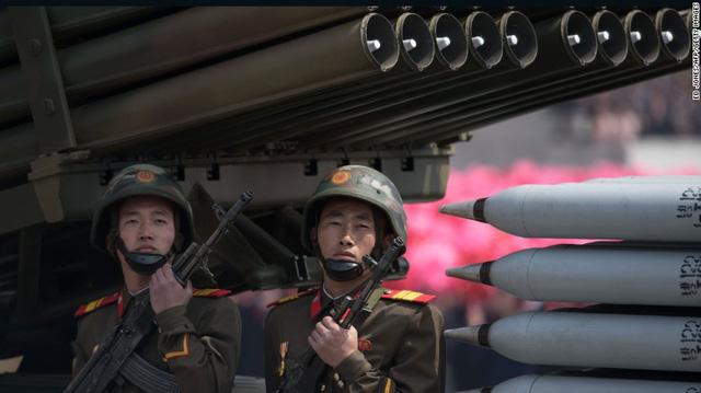 Hôm nay 8-2, 13.000 binh sĩ Triều Tiên đã sẵn sàng