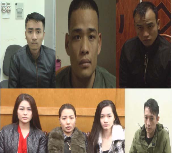 Bắt giữ 16 đối tượng trong 2 vụ án ngày giáp Tết Nguyên đán