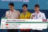 Kình ngư Huy Hoàng đoạt HC vàng Olympic trẻ