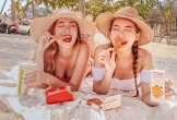Cặp chị em xinh như hot girl, nổi tiếng trong giới trẻ Singapore