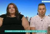 Cô gái tăng gần 80 kg để vừa lòng bạn trai