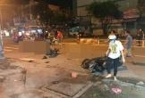 Tai nạn khi đi 'bão' mừng chiến thắng, nhiều người thương vong ở TP.HCM