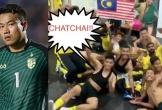 Malaysia ăn mừng hài hước, đáp trả phát ngôn 'ác mộng' của thủ môn Thái