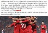 Lê Thiện Hiếu ngẫu hứng sáng tác bài hát mới mừng chiến thắng của ĐT Việt Nam