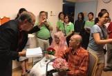Cụ bà 76 tuổi ung thư giai đoạn 4 kết hôn với cụ ông 80 tuổi