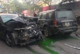 'Xe điên' khiến 1 bà cụ bán hàng rong thiệt mạng, nhiều ô tô, xe máy hư hỏng