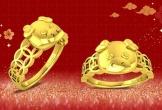 Ngày vía Thần tài trùng Valentine: Trang sức vàng tình nhân lên ngôi