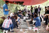 Công an bắt quả tang 24 nam nữ rủ nhau lên rừng tràm đánh bạc