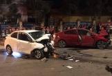 Tai nạn liên hoàn ở Vĩnh Phúc, 1 người chết, 3 người bị thương