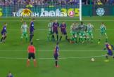Messi đá phạt thần sầu trong chiến thắng của Barca trước Real Betis