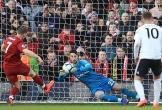 Liverpool tái chiếm đỉnh bảng nhờ phạt đền ở Ngoại hạng Anh