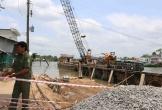 Cần Thơ: Sạt lở khu vực thi công ở sông Ô Môn, nhiều hộ dân mất nhà