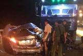 Xe con đấu đầu xe tải, 2 người tử vong tại chỗ