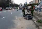 Nữ công nhân bị xe bồn kéo lê 20m, chết thảm