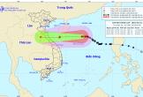Bão số 8 tăng tốc tiến vào Hà Tĩnh – Quảng Trị