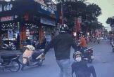 Va chạm nhẹ, 2 người đàn ông tung đòn đánh nhau giữa phố
