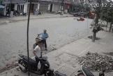 Tài xế xe tải đánh lái xuất thần, cứu sống 3 người đàn ông