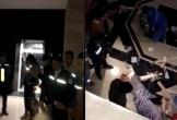 Ngã từ thang máy ở chung cư, người đàn ông bị thương nặng phải nhập viện cấp cứu