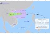 Bão số 8 di chuyển nhanh, cách Thanh Hóa và Nghệ An khoảng 700km