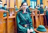 Nữ tân binh Yên Bái gây chú ý vì gương mặt xinh đẹp trong ngày lên đường nhập ngũ
