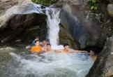 Tắm ở thác Liếp, nam sinh lớp 12 đuối nước tử vong