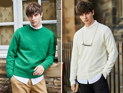 áo len nam giới