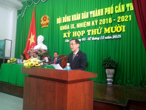 Chủ tịch UBND TP Cần Thơ