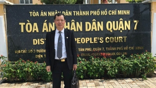 Luật sư Trần Xuân Tiền.