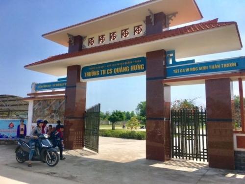 Trường THCS Quảng Hưng, huyện Quảng Trạch